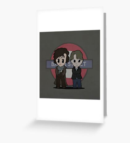 Baker Street Consultants Greeting Card