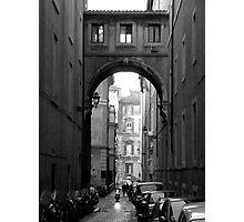 Arch de moped Photographic Print