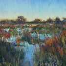 Okavango sunset 2 by Terri Maddock