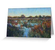 Okavango sunset 2 Greeting Card