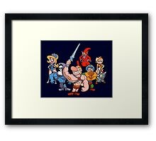 Masters of the Grimverse. Framed Print