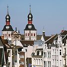 Old City Buildings by Vac1