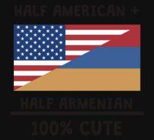 Half Armenian 100% Cute Kids Tee