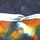 Moorland Mini Landscape by artbyrachel