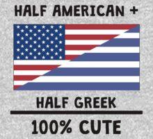 Half Greek 100% Cute Kids Tee