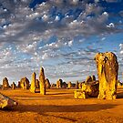 The Pinnacles (Panorama) by Mieke Boynton