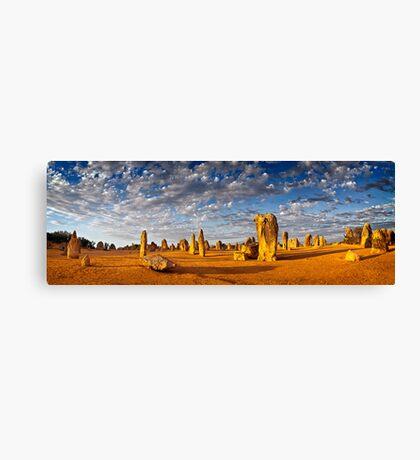 The Pinnacles (Panorama) Canvas Print