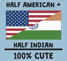 Half Indian 100% Cute Kids Tee