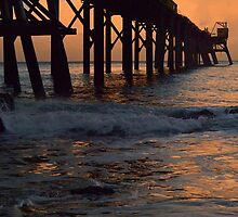 Coal Jetty @ Sunset by Robyn Forbes