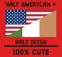 Half Irish 100% Cute Kids Tee
