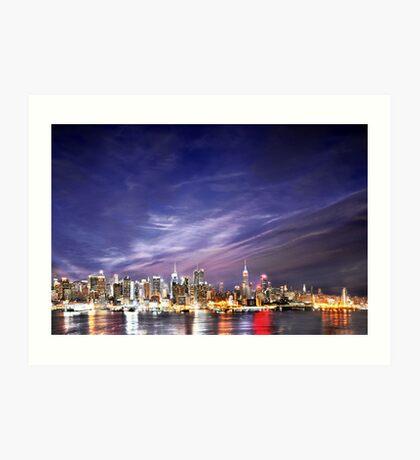 Manhattan Skyline: NYC Art Print
