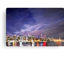 Manhattan Skyline: NYC Metal Print