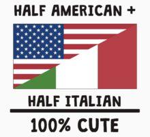 Half Italian 100% Cute Kids Tee