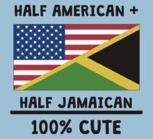 Half Jamaican 100% Cute One Piece - Short Sleeve