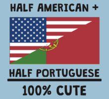 Half Portuguese 100% Cute Kids Tee