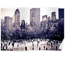 Central Park Ice Rink Poster