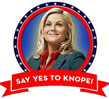 'Say Yes To Knope!', Leslie Knope - Parks & Recreation by icetown