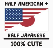 Half Japanese 100% Cute Kids Tee