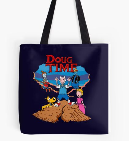 Doug Time. Tote Bag