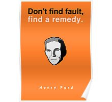 Henry Ford Poster Poster