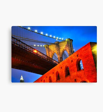 Brooklyn Bridge: NYC Canvas Print