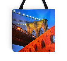 Brooklyn Bridge: NYC Tote Bag