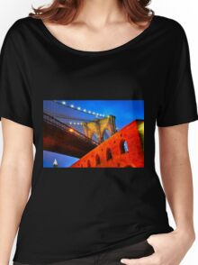 Brooklyn Bridge: NYC Women's Relaxed Fit T-Shirt