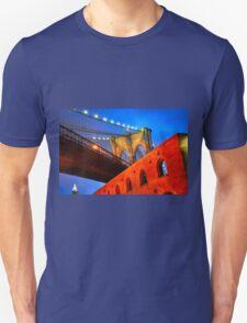 Brooklyn Bridge: NYC Unisex T-Shirt