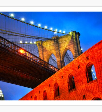 Brooklyn Bridge: NYC Sticker