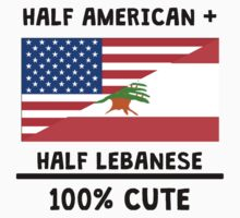 Half Lebanese 100% Cute Kids Tee