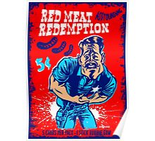 Red Meat Redemption Poster