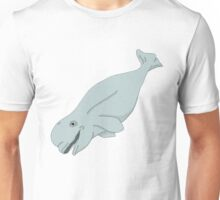 Beluga Whale Guy Unisex T-Shirt