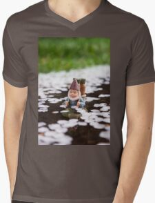 Petals Deep Mens V-Neck T-Shirt
