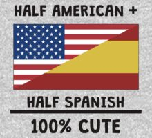 Half Spanish 100% Cute Kids Tee