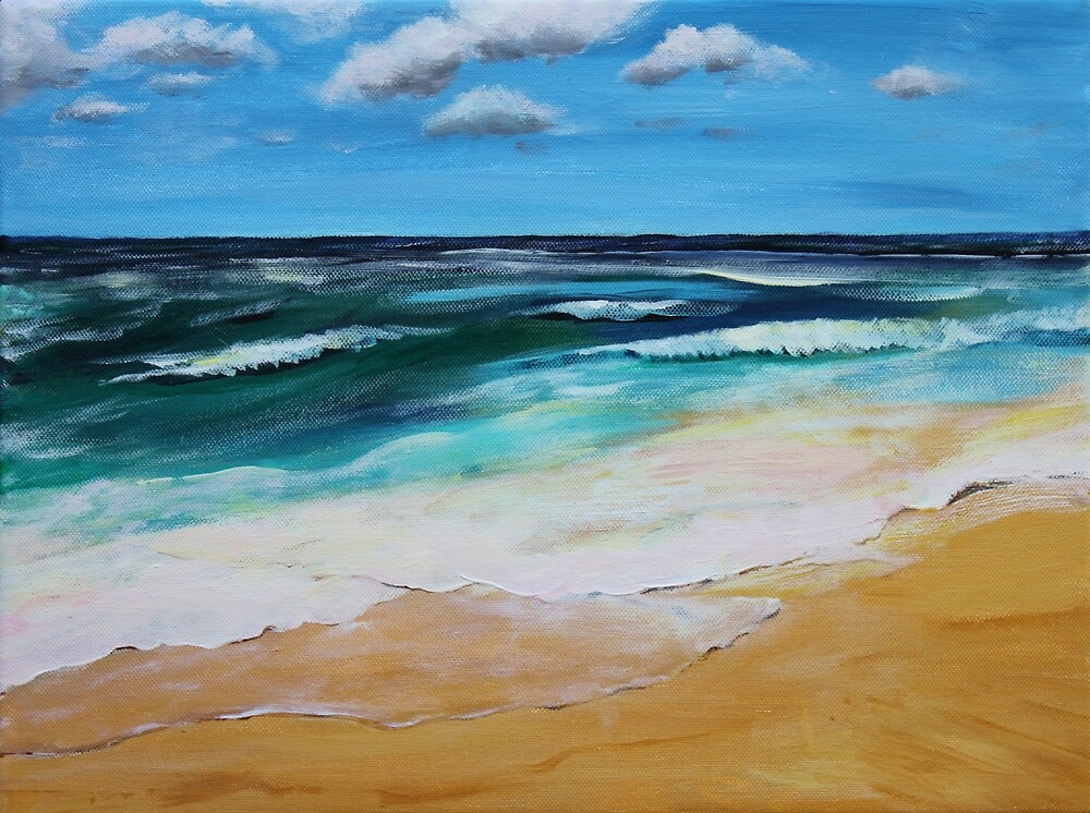 Seascape by Mike Paget
