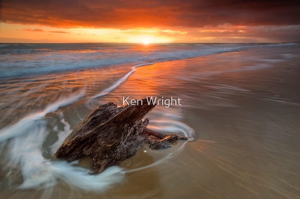Deadwood Orange Rise ~ Papamoa by Ken Wright