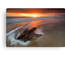 Deadwood Orange Rise ~ Papamoa Canvas Print