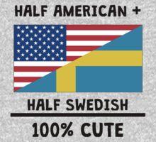 Half Swedish 100% Cute Baby Tee
