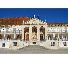 Grand entrance to Coimbra University  Photographic Print