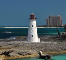 Nassau Harbour Lighthouse Sticker