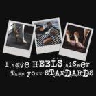Standard Heels (Dark) by Gillian Berry