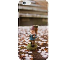 Sakura Stairs Gnome I iPhone Case/Skin