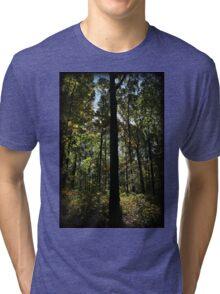 Foliage Silhouette Tri-blend T-Shirt