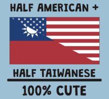 Half Taiwanese 100% Cute Kids Tee