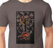 Shattered Distortion (Positive Red & Yellow) Unisex T-Shirt