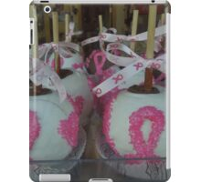 """National Breast Cancer Month"". iPad Case/Skin"