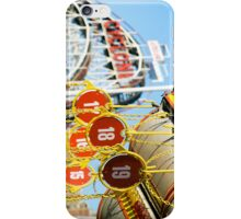 Coney Island Astroland and Cyclone: Brooklyn, NYC iPhone Case/Skin