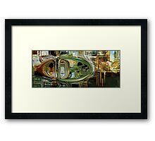 """""""the hulk"""" - movie art Framed Print"""