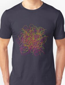 Colorful tangled wires T-Shirt