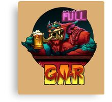 The Gnar Bar Canvas Print
